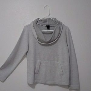 Ann Taylor gray sweater. Size small
